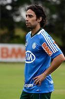 SAO PAULO, 31 DE JULHO DE 2012 - TREINO PALMEIRAS - O jogador Valdivia durante treino do Palmeiras na tarde desta terca feira, no ct do clube, na barra funda, regiao oeste da capital. FOTO: ALEXANDRE MOREIRA - BRAZIL PHOTO PRESS