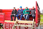 Th press box at the Kerry v Kildare in the National Hurling League at Abbeydorney on Sunday.