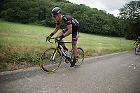Marcel Kittel (DEU/Giant-Alpecin) is having a hard season so far as he is struggling to keep up on every climb.<br /> <br /> stage 3: Buchten-Buchten (190km)<br /> 29th Ster ZLM Tour 2015