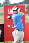 ISPS Handa Wales Open Pro_Am<br /> Welsh golfer Phillip Price teeing off on the first hole.<br /> Celtic Manor Resort<br /> 17.09.14<br /> &copy;Steve Pope-SPORTINGWALES