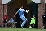 ELON, NC - AUGUST 25: North Carolina's Mauricio Pineda. The University of North Carolina Tar Heels hosted the Providence College Friars on August 25, 2017 at Rudd Field in Elon, NC in a Division I college soccer game. UNC won the game 4-2.