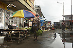 Central Market in Paramaribo, Suriname.
