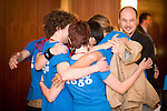 Think 2050 hug. Bonn Climate Change talks. (©Robert vanWaarden)