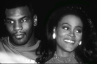 Mike Tyson and Robin Givens 1989<br /> Photo By John Barrett/PHOTOlink