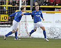 04/12/2010   Copyright  Pic : James Stewart.sct_jsp001_alloa_v_peterhead  .:: RYAN STRACHAN CELEBRATES AFTER HE SCORES PETERHEAD'S FIRST FROM THE SPOT ::.James Stewart Photography 19 Carronlea Drive, Falkirk. FK2 8DN      Vat Reg No. 607 6932 25.Telephone      : +44 (0)1324 570291 .Mobile              : +44 (0)7721 416997.E-mail  :  jim@jspa.co.uk.If you require further information then contact Jim Stewart on any of the numbers above.........