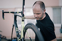 mechanics go to work after every stage to get the bikes in perfect racing condition again<br /> <br /> 104th Tour de France 2017<br /> Stage 7 - Troyes &rsaquo; Nuits-Saint-Georges (214km)
