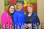 Katie Quilter, Kathleen Gleasure and Helen Stack pictured at the Food Fair in aid of Spa/Fenit Hospice held in Ballyroe Heights Hotel on Friday evening.