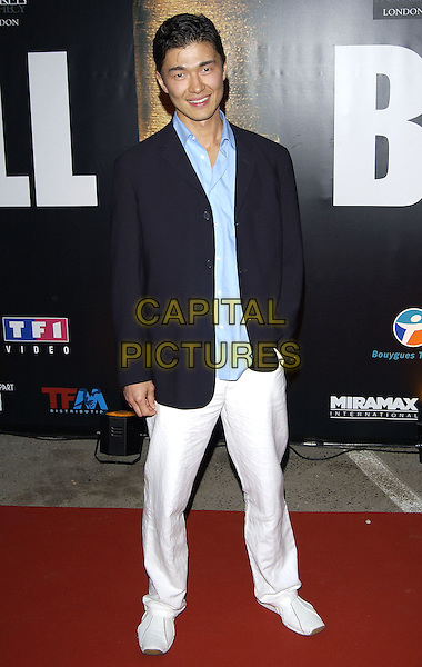 RICK YUNE.Kill Bill 2 Party,.Cannes Film Festival, .France 16th May 2004..full length.sales@capitalpictures.com.www.capitalpictures.com.©Capital Pictures