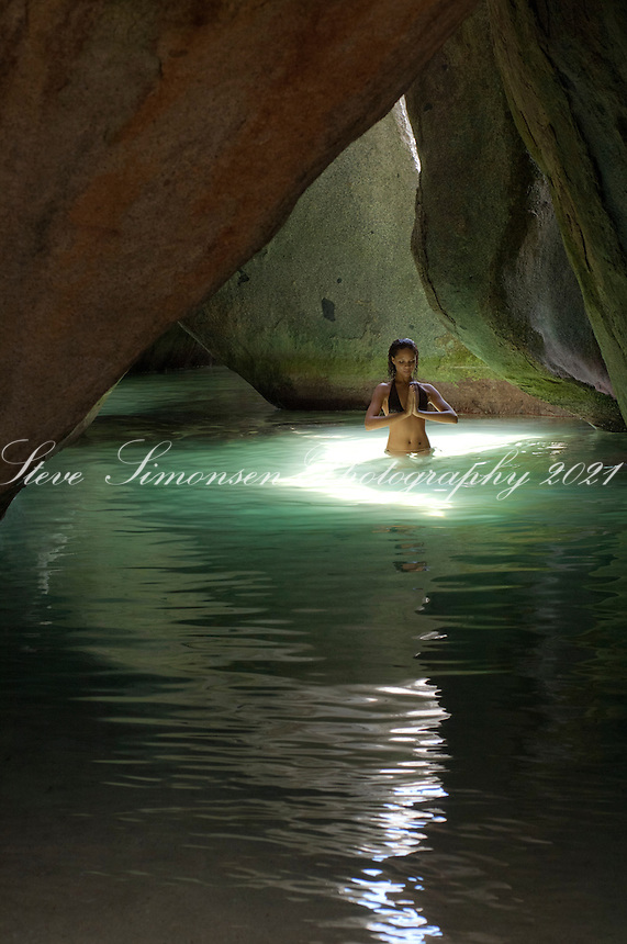 JeTaime Cerge &quot;Namaste&quot;<br /> In The Cathedral<br /> The Baths, Virgin Gorda<br /> British Virgin Islands