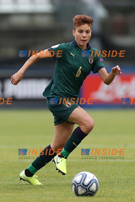Manuela Giugliano of Italy<br /> Castel di Sangro 12-11-2019 Stadio Teofolo Patini <br /> Football UEFA Women's EURO 2021 <br /> Qualifying round - Group B <br /> Italy - Malta<br /> Photo Cesare Purini / Insidefoto