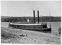 """General Grant"" at Kingston Gap, Tennessee River<br /> <br /> Published 1861Ð65"