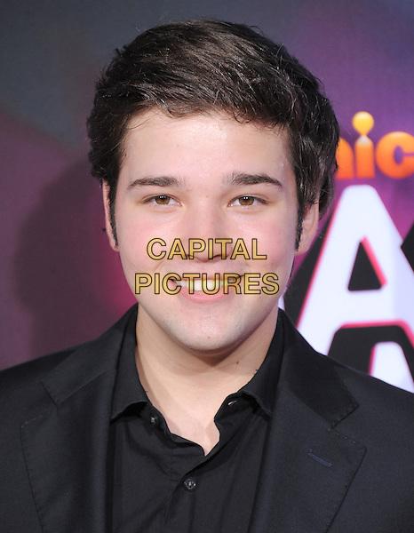 Nathan Kress.at the TeenNick HALO Awards held at The Palladium in Hollywood, .California, USA, .November 17th 2012..portrait headshot black shirt          .CAP/DVS.©DebbieVanStory/Capital Pictures.