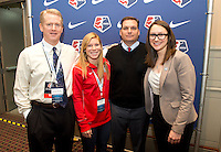 Rory Dames, Lori Chalupny. The NWSL draft was held at the Pennsylvania Convention Center in Philadelphia, PA, on January 17, 2014.
