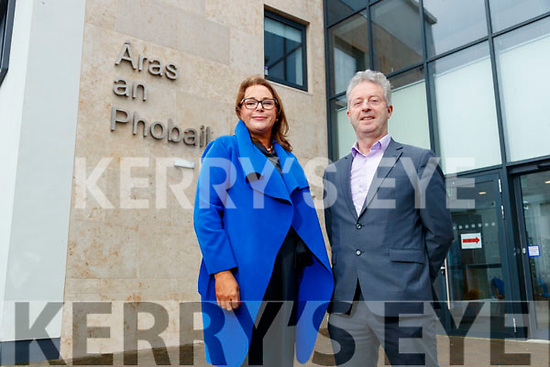Patricia Dowling Coordinator (NEWKD) and Eamonn O'Reilly (CEO NEWKD),