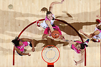 Stanford, CA - February 15, 2018:  Stanford Women's Basketball team vs Cal at Maples Pavilion.  Stanford won over Cal, 74-69.