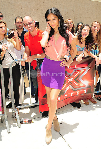 MIAMI, FL - JUNE 14: Nicole Scherzinger attends the X Factor Auditions at Bank United Center on June 14, 2011 in Miami, Florida. (photo by: MPI10/MediaPunch Inc.)