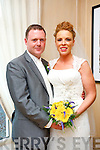 Catherine Leen, Ardfert, daughter of Donal and Hannah May, and Mark Blennerhassett, Ballyard Tralee, son of Benny and Marie, were married at St. Brendan's Church, Ardfert by Fr. Tadgh Fitzgerald on Saturday 18th October 2014 with a reception at Ballygarry House Hotel