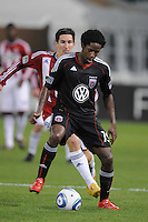 DC United mifielder Clyde Simms (19).  DC United defeated Chivas USA 3-2 at RFK Stadium, Saturday  May 29, 2010.