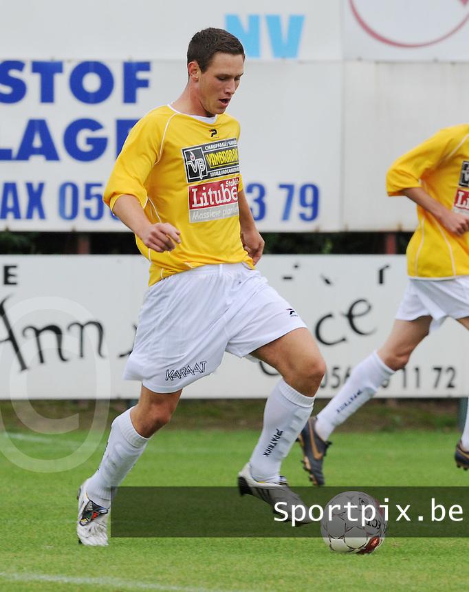 SC Wielsbeke : Michel D'hondt.foto VDB / BART VANDENBROUCKE
