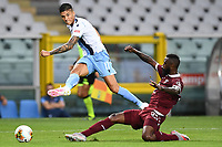 Joaquin Correa of SS Lazio and Nicolas N'Koulou of Torino FC during the Serie A football match between Torino FC and SS Lazio at stadio Olimpico in Turin ( Italy ), June 30th, 2020. Play resumes behind closed doors following the outbreak of the coronavirus disease. <br /> Photo Image Sport / Insidefoto