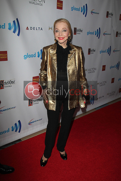 Anne Jeffreys<br /> at the 25th Annual GLAAD Media Awards, Beverly Hilton, Beverly Hills, CA 04-12-14<br /> David Edwards/DailyCeleb.Com 818-249-4998