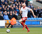 Sheffield United's Conor Sammon in action during the League One match at The Den.  Photo credit should read: David Klein/Sportimage