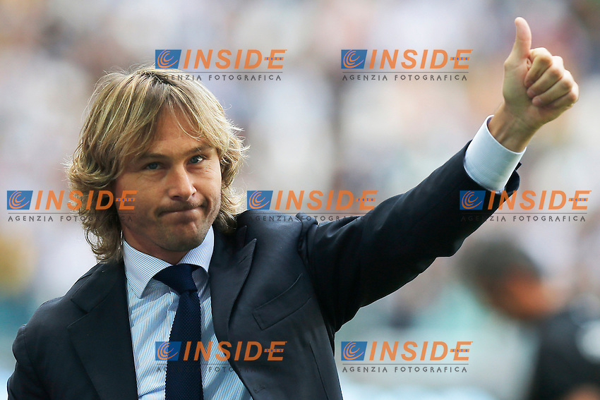 Pavel Nedved Juventus, Torino 11/5/2013 .Juventus Stadium.Football Calcio 2012/2013 Serie A.Juventus Vs Cagliari.Foto Marco Bertorello Insidefoto