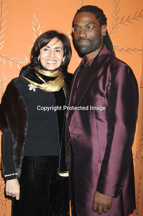 Patricia Mauceri and Timothy D Stickney ..at the One Life To Live Christmas Party at LQ on     December 12, 2005. ..Photo by Robin Platzer, Twin Images