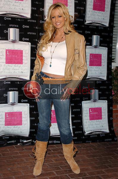 "Stormy Daniels<br />at the launch of ""L eau de parfum"". Fred Segal, Los Angeles, CA. 02-15-06<br />Scott Kirkland/DailyCeleb.Com 818-249-4998"
