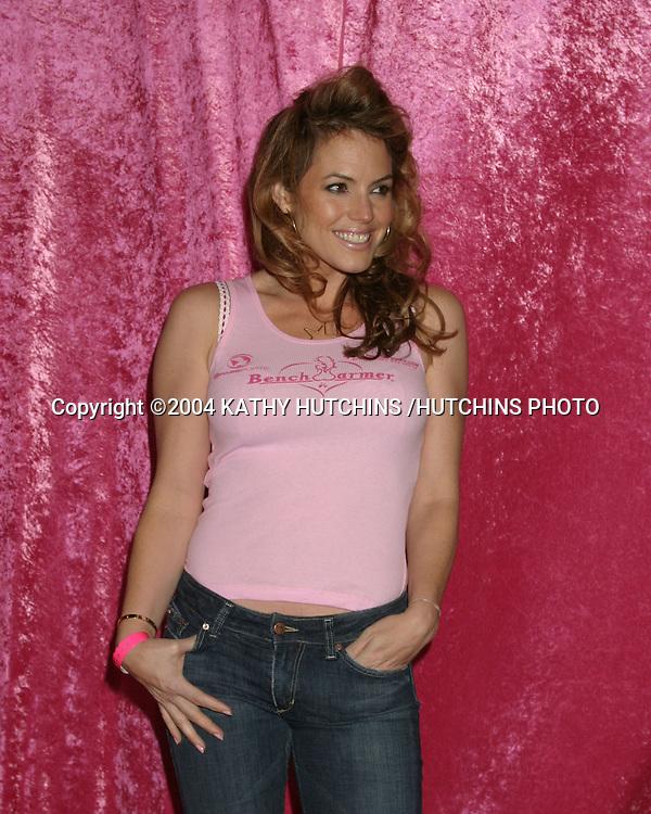 ©2004 KATHY HUTCHINS /HUTCHINS PHOTO.BENCHWARMER PARTY.BLISS.LOS ANGELES, CA.NOVEMBER 20, 2004..SANDRA TAYLOR