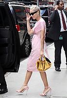 NEW YORK, NY - JUNE 15: Zoe Kravitz seen leaving Good Morning America in New York City on  June 15, 2017. Credit: RW/MediaPunch