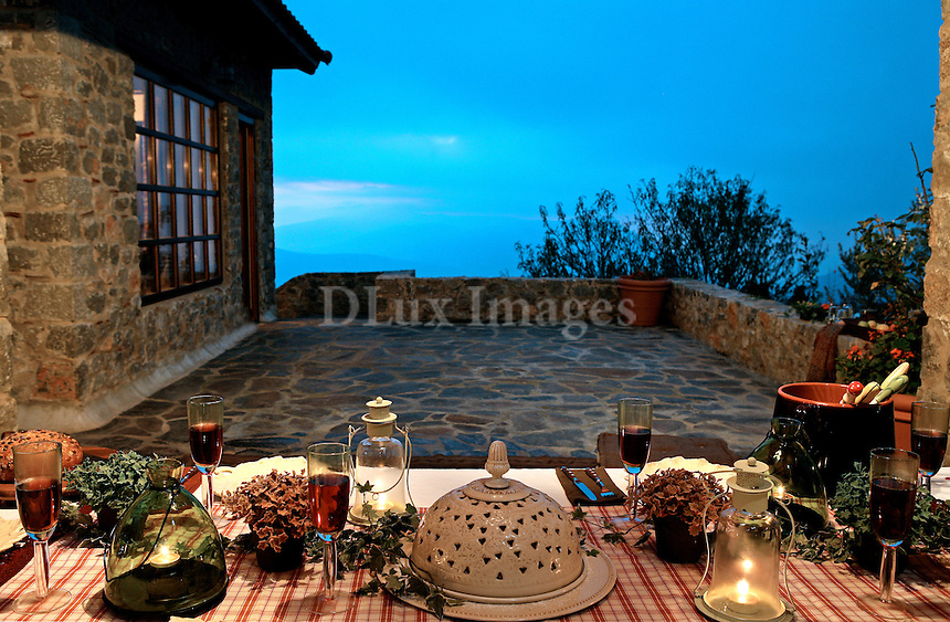 A country house in Arahova, an area in the north side of Greece, is a perfect location as a winter retreat.