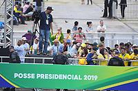 BRASILIA, DF, 01.01.2019 - BOLSONARO-POSSE- Movimentação em frente ao Palácio do Planalto, durante a posse do presidente da República, Jair Bolsonaro, nesta terça-feira, 01.(Foto:Ricardo Botelho / Brazil Photo Press)