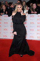 Danielle Armstrong at the National Television Awards 2018 at the O2 Arena, Greenwich, London, UK. <br /> 23 January  2018<br /> Picture: Steve Vas/Featureflash/SilverHub 0208 004 5359 sales@silverhubmedia.com