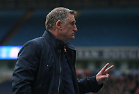 Blackburn Rovers manager Tony Mowbray in the final two minutes  of todays match<br /> <br /> Photographer Rachel Holborn/CameraSport<br /> <br /> The EFL Sky Bet League One - Blackburn Rovers v Southend United - Saturday 7th April 2018 - Ewood Park - Blackburn<br /> <br /> World Copyright &copy; 2018 CameraSport. All rights reserved. 43 Linden Ave. Countesthorpe. Leicester. England. LE8 5PG - Tel: +44 (0) 116 277 4147 - admin@camerasport.com - www.camerasport.com