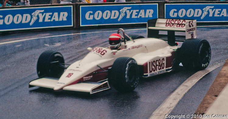 Eddie Cheever, Arrows A10, Detroit 1987