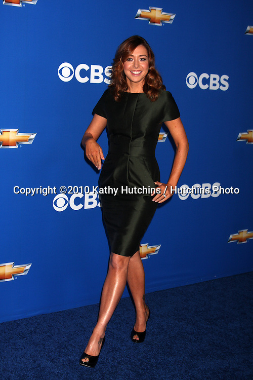 LOS ANGELES - SEP 16:  Alyson Hannigan arrives at the CBS Fall Party 2010 at The Colony on September 16, 2010 in Los Angeles, CA