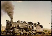 D&amp;RGW #480 K-36 possibly in Durango.<br /> D&amp;RGW  Durango ?, CO
