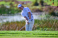 Ryo Ishikawa (JPN) hits from the trap on 2 during round 1 of the Honda Classic, PGA National, Palm Beach Gardens, West Palm Beach, Florida, USA. 2/23/2017.<br /> Picture: Golffile | Ken Murray<br /> <br /> <br /> All photo usage must carry mandatory copyright credit (&copy; Golffile | Ken Murray)