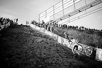 &quot;Le Mur&quot; de Francorchamps (50% gradient!)<br /> <br /> Superprestige Francorchamps 2014