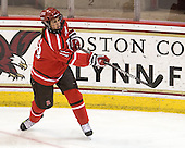 Britni Smith (St. Lawrence - 18) - The visiting St. Lawrence University Saints defeated the Boston College Eagles 4-0 on Friday, January 15, 2010, at Conte Forum in Chestnut Hill, Massachusetts.