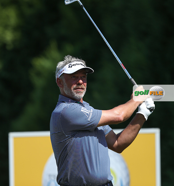 Darren Clarke (NIR) plays to the 5th during Round Three of the Tshwane Open 2015 at the Pretoria Country Club, Waterkloof, Pretoria, South Africa. Picture:  David Lloyd / www.golffile.ie. 14/03/2015