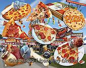 Lori, STILL LIFE STILLEBEN, NATURALEZA MORTA, paintings+++++Pizza Puzzle_5_72,USLS37,#I#, EVERYDAY ,puzzles ,collage