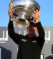 David Howell (ENG winner after the final round at the Alfred Dunhill links Championship Old Course, St Andrews, Fife, Scotland.<br /> Picture Fran Caffrey www.golffile.ie