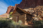 The Fruita Schoolhouse at Capitol Reef National Park, Utah, USA