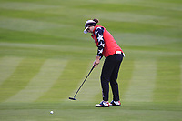 Ally McDonald of Team USA on the 2nd green during Day 2 Foursomes at the Solheim Cup 2019, Gleneagles Golf CLub, Auchterarder, Perthshire, Scotland. 14/09/2019.<br /> Picture Thos Caffrey / Golffile.ie<br /> <br /> All photo usage must carry mandatory copyright credit (© Golffile | Thos Caffrey)