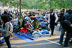 Where protester's sleep at the Occupy Wall Street Protest in New York City October 6, 2011.