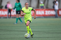 Seattle, WA - Saturday July 23, 2016: Elli Reed during a regular season National Women's Soccer League (NWSL) match between the Seattle Reign FC and the Orlando Pride at Memorial Stadium.