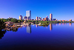 Boston's Back Bay neighborhood and Charles River
