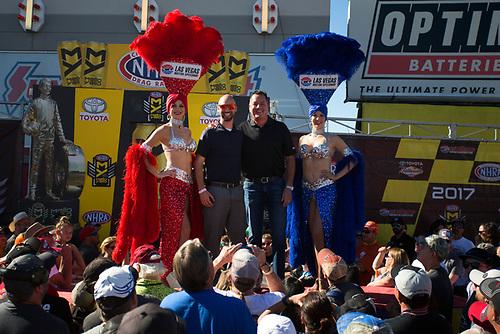 NHRA Mello Yello Drag Racing Series<br /> NHRA Toyota Nationals<br /> The Strip at Las Vegas Motor Speedway<br /> Las Vegas, NV USA<br /> Sunday 29 October 2017 <br /> Toyota<br /> World Copyright: Jason Zindroski<br /> Jason Zindroski / HighRev Photo